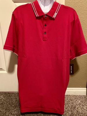 Authentic, Brandnew Michael Kors Mens Polo Shirt, L size ($74) for Sale in Las Vegas, NV