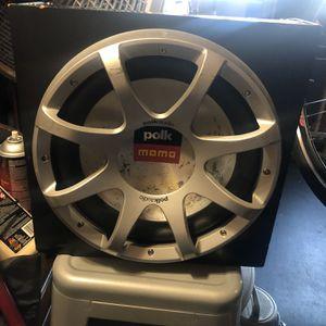 """12"""" Polk Audio MOMO Subwoofer for Sale in Fremont, CA"""