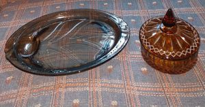 Vintage plater and candy dish for Sale in Newton, KS
