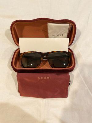 Gucci Rectangular Sunglasses GG0381S 009 57 18 for Sale in Huntington Beach, CA