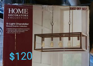 Home 5 light Boswell Chandelier NEW for Sale in Bakersfield, CA