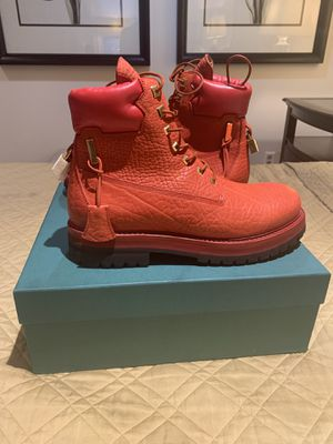 Buscemi Site Boot Sneaker Designer Red sz 12 sz 45 for Sale for sale  Morristown, NJ