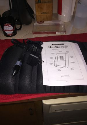 New just no box. Never used. Health touch back massager w/heat for home or car. for Sale in Fresno, CA