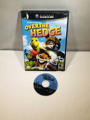 Over the hedge Nintendo GameCube no manual for Sale in Long Beach, CA