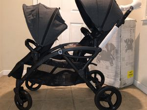 Contours Options Elite Tandem Double Toddle & Baby Stroller for Sale in Tracy, CA
