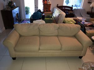 Couch With 3 Seats for Sale in Miami, FL