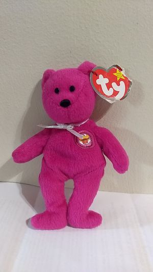 Burger the bear beanie baby for Sale in Youngstown, OH