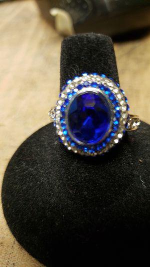 Blue sapphire white gold filled for Sale in Farmville, VA