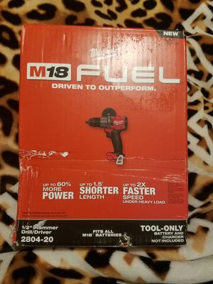 M18 fuel drill hammer 1/2 for Sale in Bakersfield, CA