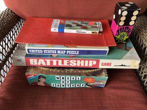 Board Games - Miscellaneous Lot of 5 Total for Sale in La Mirada, CA