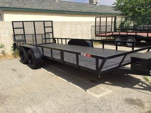 7x18x1 UTILITY TRAILER RZR STYLE for Sale in Adelanto, CA