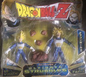 Dragon Ball Z SS Vegeta SS2 Trunks ultimate struggles jakks Pacific rare for Sale in Costa Mesa, CA
