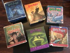 Harry Potter Audio Books on CD - Six Books for Sale in North Fort Myers, FL