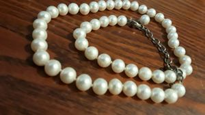 Absolutely Gorgeous vintage genuine Freshwater cultured pearls necklace for Sale in Queens, NY