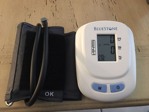 Digital blood pressure and heart rate arm cuff. New