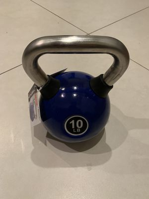 New 10lbs kettlebell. Reasonable offers considered for Sale in Palmetto Bay, FL