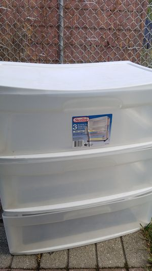 Plastic drawer for Sale in Riverside, IL