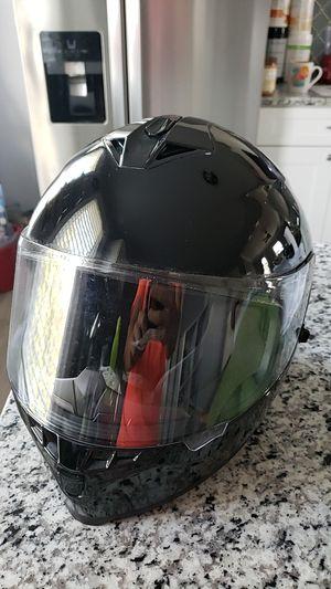 Cool Black motorcycle helmet for Sale in Grand Prairie, TX