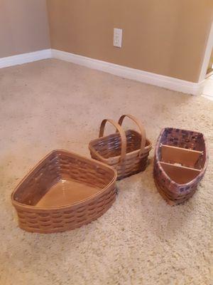 Longaberger baskets for Sale in Henderson, NV