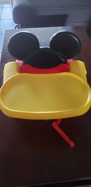 Booster seat with tray for Sale in Haines City, FL