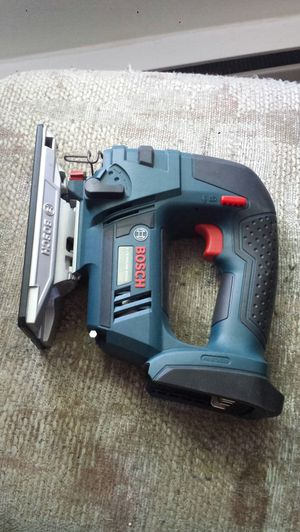 Bosch 18V Variable Speed Cordless Jig Saw. Like new $80 (TOOL ONLY) for Sale in Everett, WA