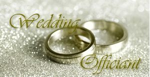 Wedding Officiant Marriage License Signing for Sale in Fort Worth, TX