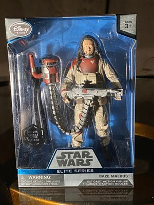 Star Wars Elite Series - Baze Malbus - New for Sale in Baldwin Park, CA