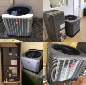 NEW 3 TON RHEEM AIR CONDITIONER SYSTEM 14 SEER for Sale in Spring Hill, FL