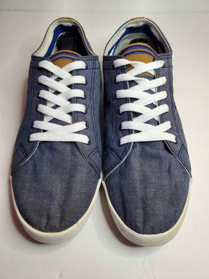 Mens Fred Perry Blue Denim Shoes Size 11 for Sale in Los Angeles, CA