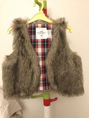 Fur vest jacket for Sale in Arcadia, CA