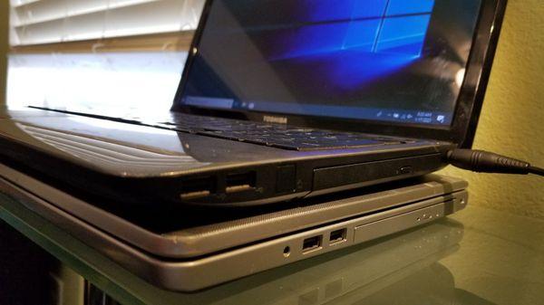 Toshiba Satellite L755 laptop Windows 10