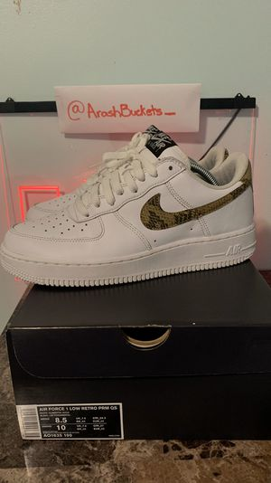 Nike Air Force 1 Snake Skin Sz 8.5 for Sale in Queens, NY