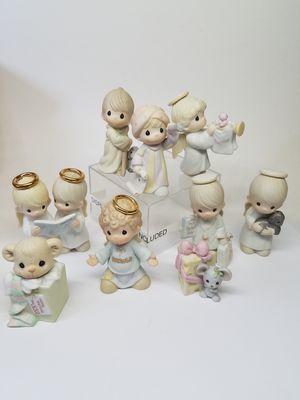 Precious Moments Miniature Nativity Lot of 9 (Read Below) for Sale in Phoenix, AZ