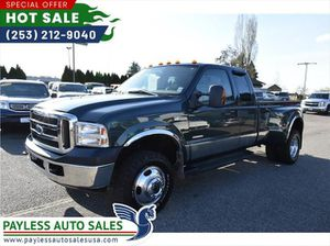 2006 Ford F350 Super Duty Super Cab Lariat Pickup 4D 8 Ft for Sale in Lakewood, WA