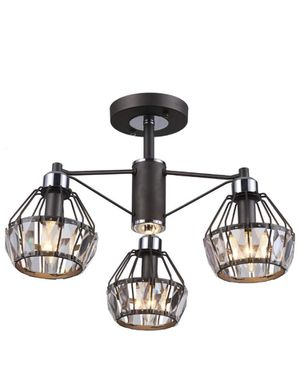 3.2 out of 5 stars 5 Reviews SOLFART 7126 Crystal Black Vanity Lights Chandelier Lighting (3 Lights Chandelier) for Sale in San Bernardino, CA