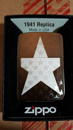 Zippo star 1941 style 29680 for Sale in Los Angeles, CA