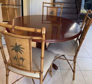 Dining Table with 3 chairs for Sale in West Palm Beach, FL