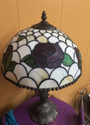 Antique Lamp Stained Glass for Sale in Mableton, GA