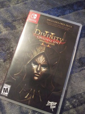 Divinity Original Sin II Definitive Edition Nintendo Switch for Sale in Los Angeles, CA
