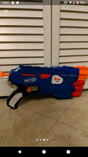 Nerf Dual Strike Gun for Sale in Fremont, CA
