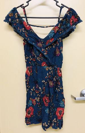 Blue flower print 'Xhilarition' Dress (size medium) for Sale in Vancouver, WA