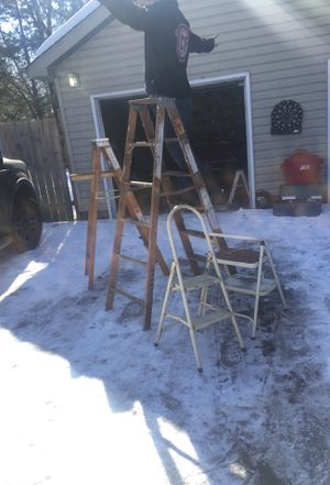 4 ladders for Sale in Lino Lakes, MN