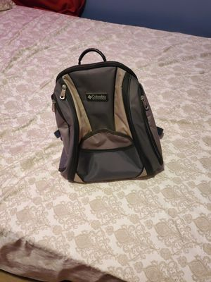 Columbia diaper bag With Thermal Side Pocket Backpack Blue Grey Hiking for Sale in Bethel Park, PA