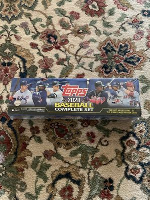 Topps 2020 MLB Baseball Complete Set for Sale in Dallas, TX