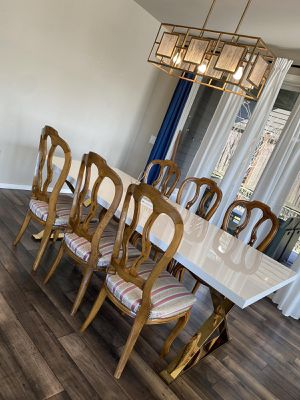 6 dining chairs no table only chairs for Sale in Kent, WA