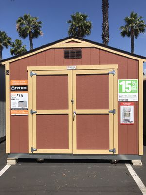 Tuffshed's Sundance series TR700 10x12 Display for Sale in San Diego, CA
