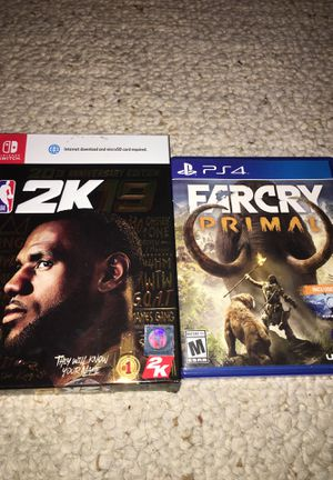 Far Cry Primal and 2k19 for Sale in Scottsdale, AZ