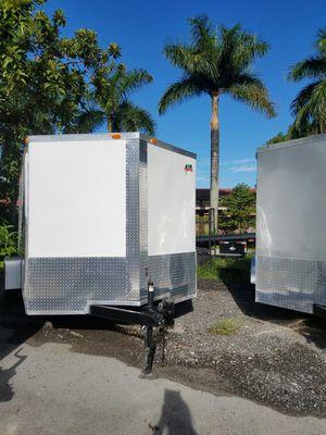 8.5 x 24 TA enclosed trailer NEW for Sale in Miami, FL
