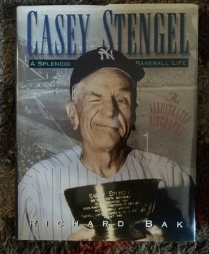 Casey Stengel Hardback Book Pre-Owned Good Condition for Sale in Baltimore, MD