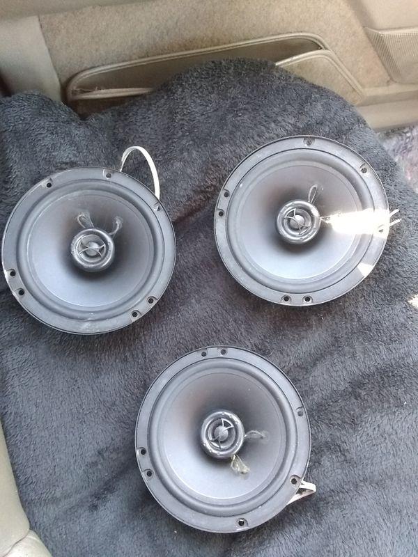 Polk audio 5×7 car speakers (3) for sale. Asking 45.00
